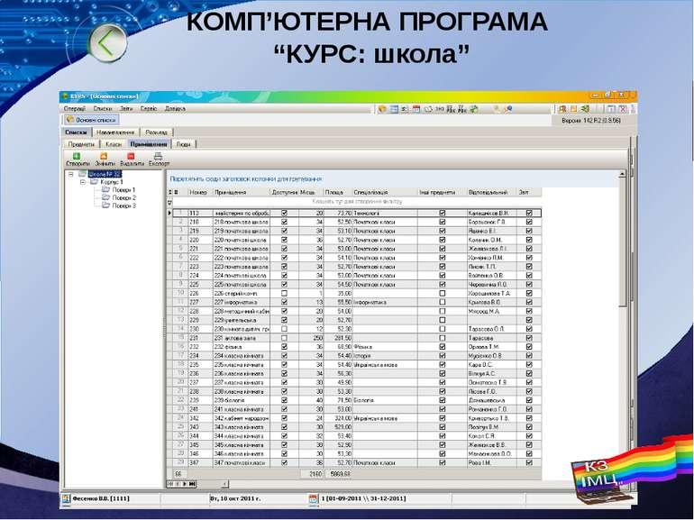 """КОМП'ЮТЕРНА ПРОГРАМА """"КУРС: школа"""" LOGO"""