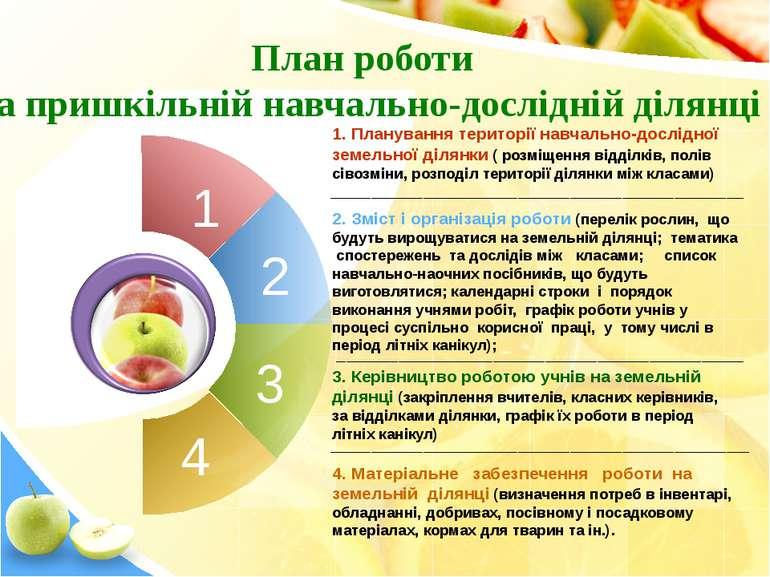 1 4 1. Планування території навчально-дослідної земельної ділянки ( розміщенн...