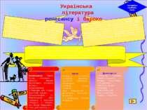 Методична скринька. Урок1 Полемічна література –література, яка відображала р...