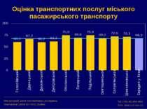 Оцінка транспортних послуг міського пасажирського транспорту Міжнародний цент...