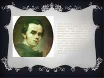 Тарас Шевченко — геніяльний поет, титан слова і духовний батько — мертвих, жи...