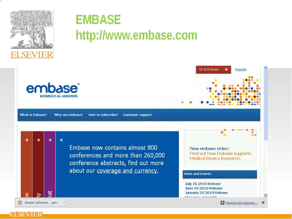 EMBASE http://www.embase.com