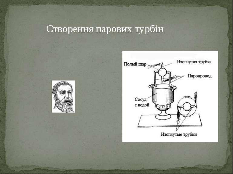 Створення парових турбін