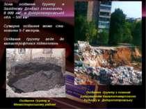 Осідання ґрунту в Монастириському районі Осідання ґрунту з повним руйнуванням...