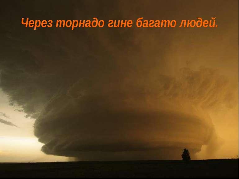 Через торнадо гине багато людей.