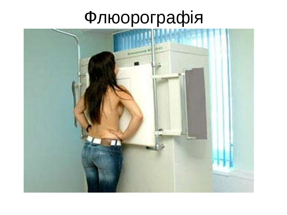 Флюорографія