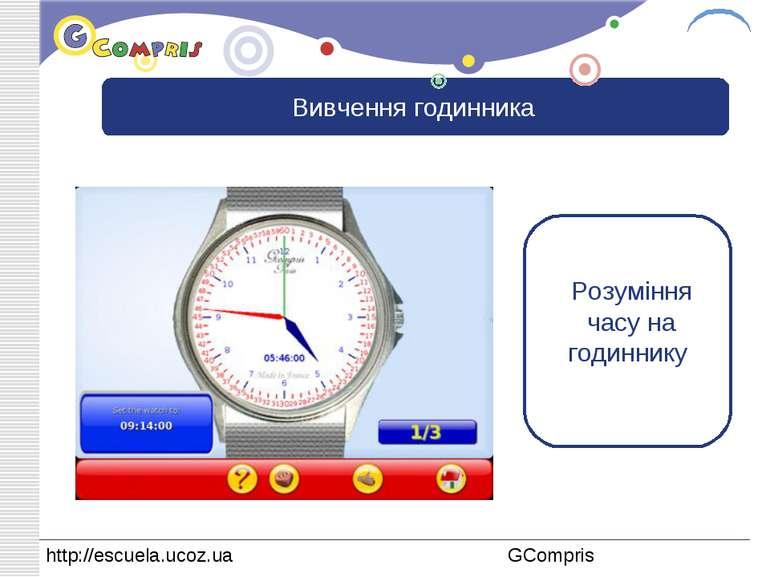 Вивчення годинника Розуміння часу на годиннику LOGO