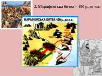 2. Марафонська битва – 490 р. до н.е.