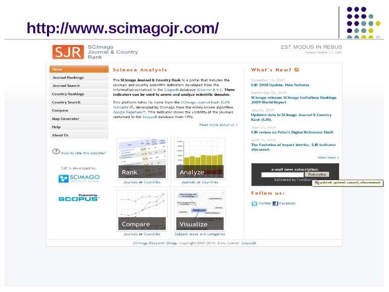 http://www.scimagojr.com/
