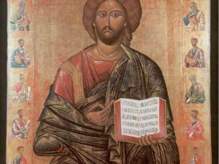 Христос Патократор 15 ст. Історико-краєзнавчий музей, Рівне.
