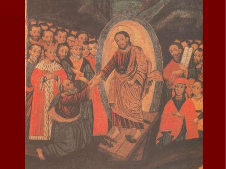 Воскресіння-зішестя до пекла. с. Прохід Ратнівського р-ну, перша половина XVI...