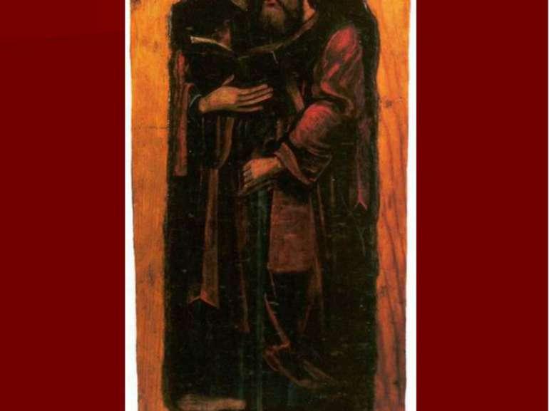 Апостол Павло. Друга пол. XVIІ ст. С. Борочиче Горохівського р-ну, Музей Воли...