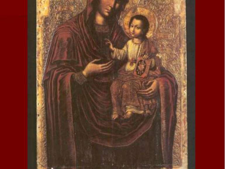 Богородиця. Богородчанський іконостас. 1698-1705 рр. Національний музей, Львів