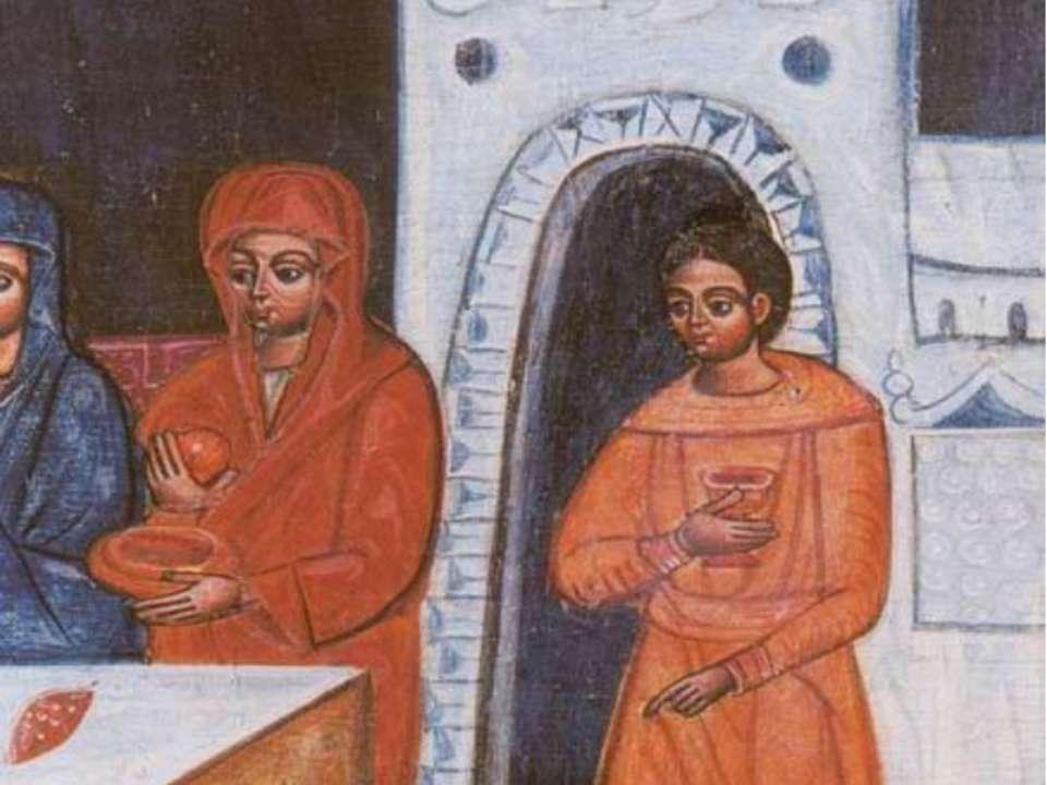 Різдво Богородиці. Фрагмент 16 ст. Історико-краєзнавчий музей, Острог.