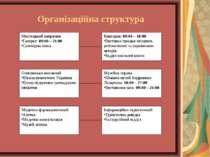 Організаційна структура