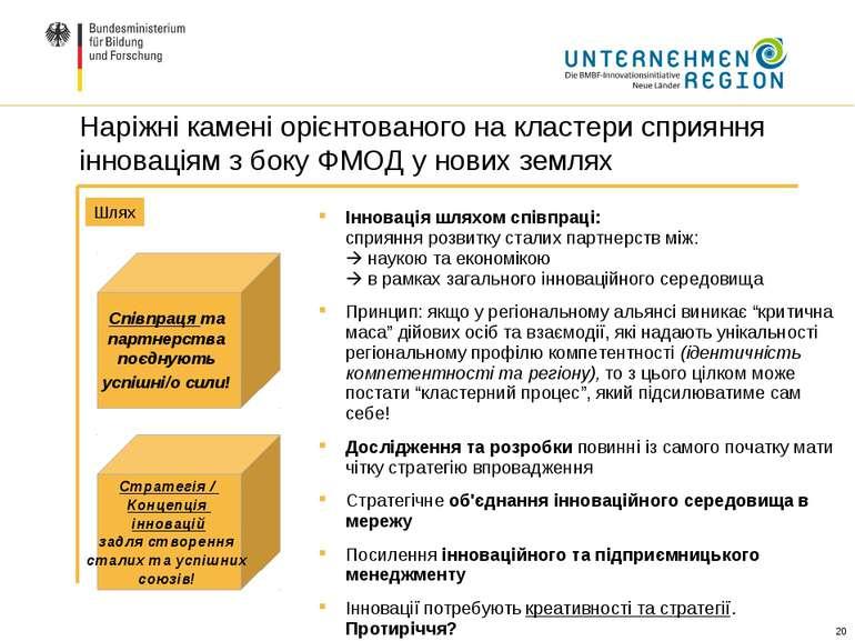 Інновація шляхом співпраці: сприяння розвитку сталих партнерств між: наукою т...