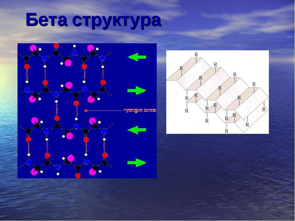 Бета структура