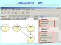 NetBeans IDE 6.0 (2/2) UML. Діаграми прецедентів