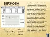 Дані, які розташовані в стовпцях або рядках в певному порядку, можна зобразит...