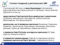 У регіональних ЗМІ лише на Івано-Франківщині спостерігався відносний баланс м...