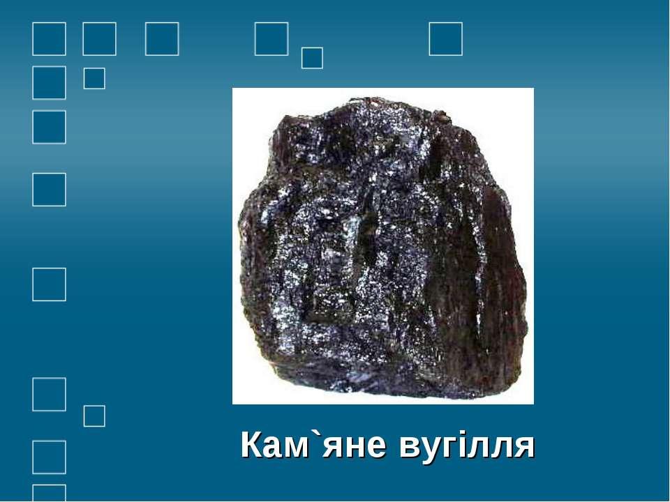 Кам`яне вугілля