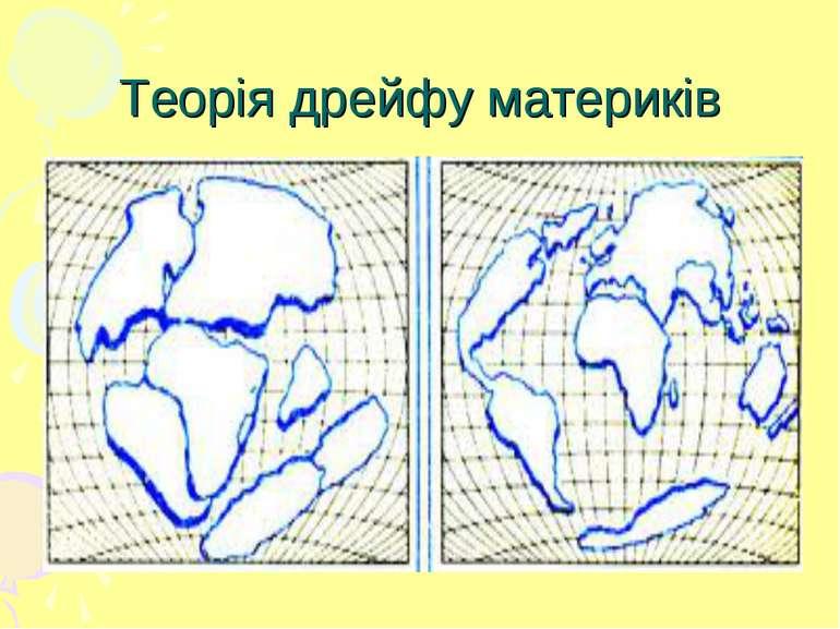 Теорія дрейфу материків