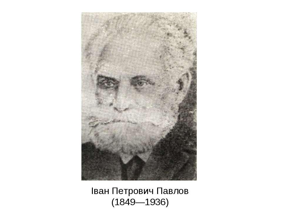 Іван Петрович Павлов (1849—1936)