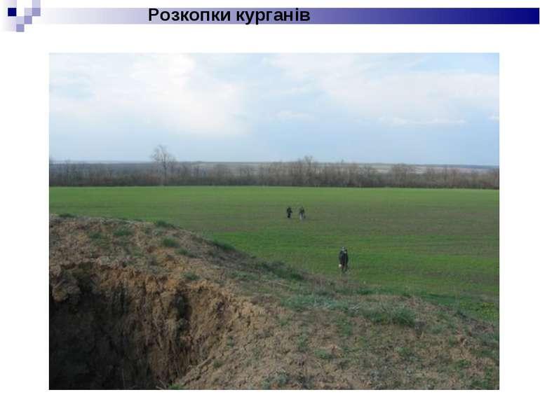 Розкопки курганів