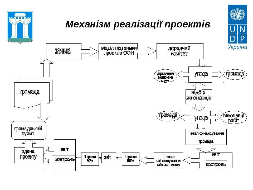 Механізм реалізації проектів
