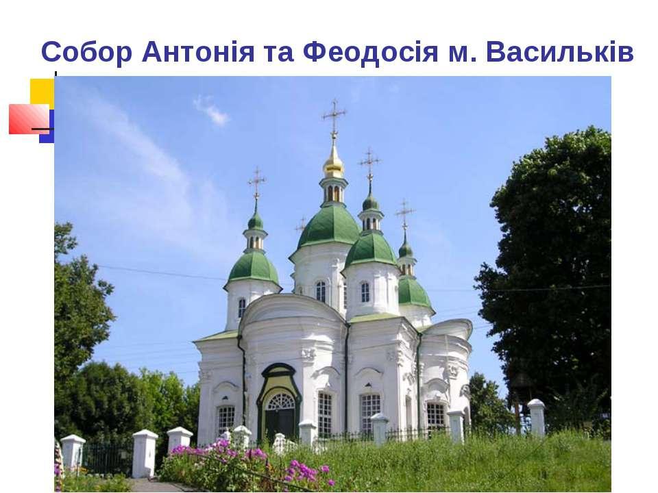Собор Антонія та Феодосія м. Васильків